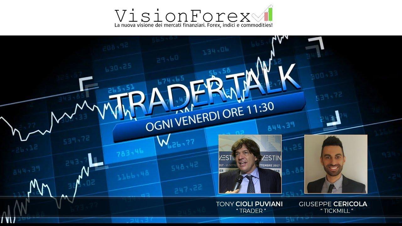 Trader Talk 3 Luglio 2020 ospiti Tony Cioli Puviani e Giuseppe Cericola [Partner TICKMILL]