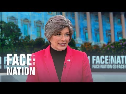 "Ernst says Nielsen is ""doing a good job"" on border security"