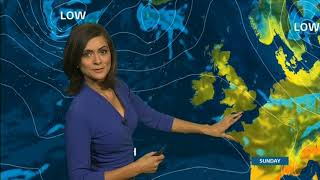 Lucy Verasamy ITV Weather 2017 10 07