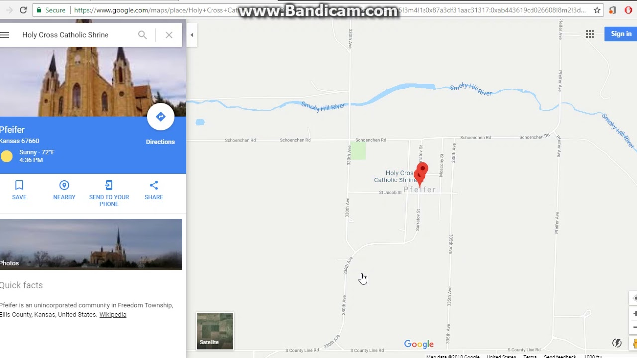 Searching Random Towns in Kansas on Google Maps!! Pt.2 - YouTube