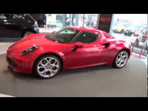 presentation alfa romeo 4c rosso competizione garage kegels youtube. Black Bedroom Furniture Sets. Home Design Ideas