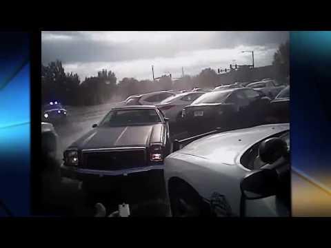 RAW: Police camera shows chase through Farmington, Fayetteville
