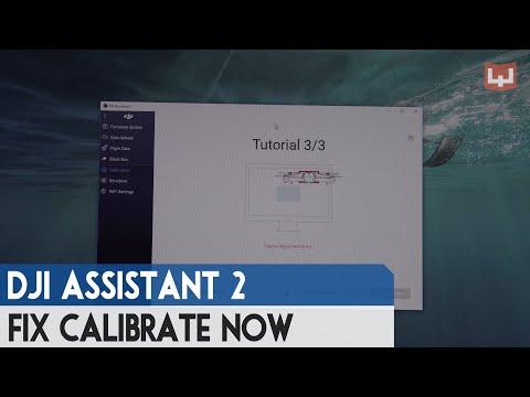 "[PC] Fix ""calibrate now"" problem in Windows 10 64bit  - Frame Alignment Error , DJI Mavic Pro"