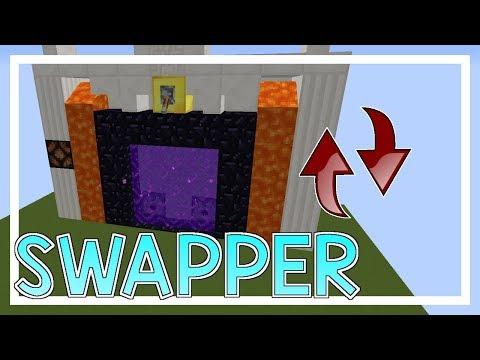 Hoe maak je een NETHER PORTAL SWAPPER??? - Survival Machines