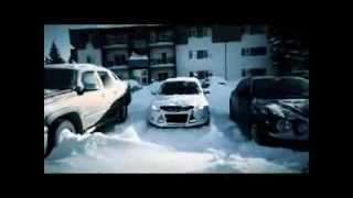 Ford Focus 2012 on snow with Michelin X-Ice Xi2