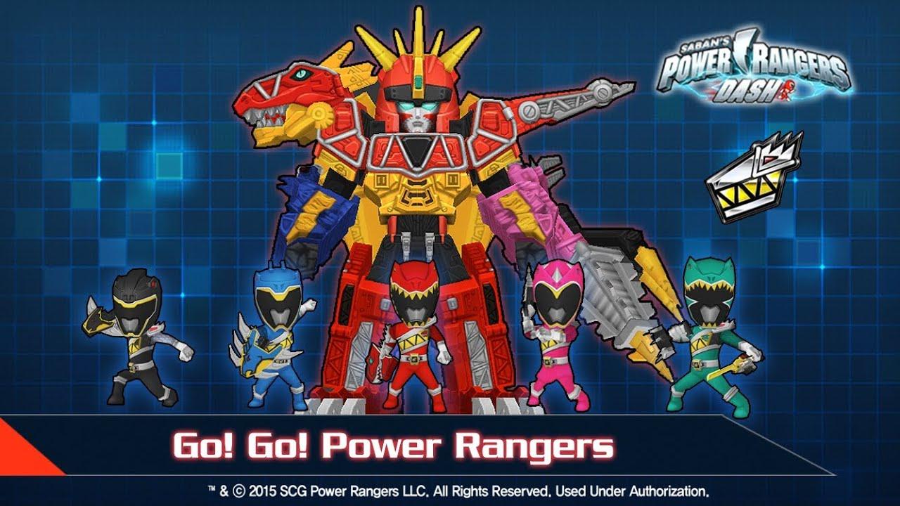 Game 5 anh em siêu nhân - Power rangers dash - Android Gameplay - YouTube