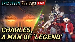 Epic SevenCharles Hero Build amp Arena Showcase - Charles takes me to Legend