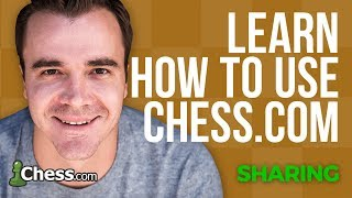 Using Chess.com: How to Share Chess Games and Positions