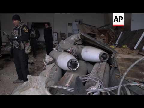 Iraqi forces find chemical warfare agent in Mosul