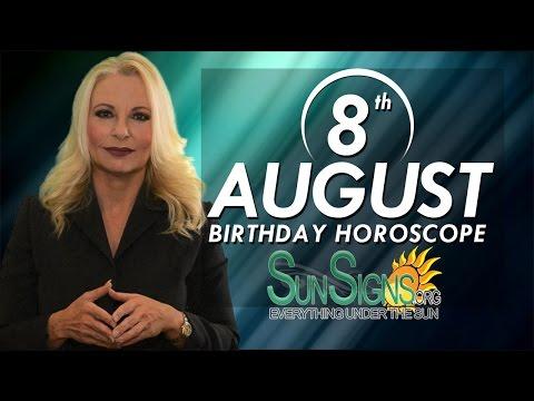 August 8th Zodiac Horoscope Birthday Personality - Leo - Part 1