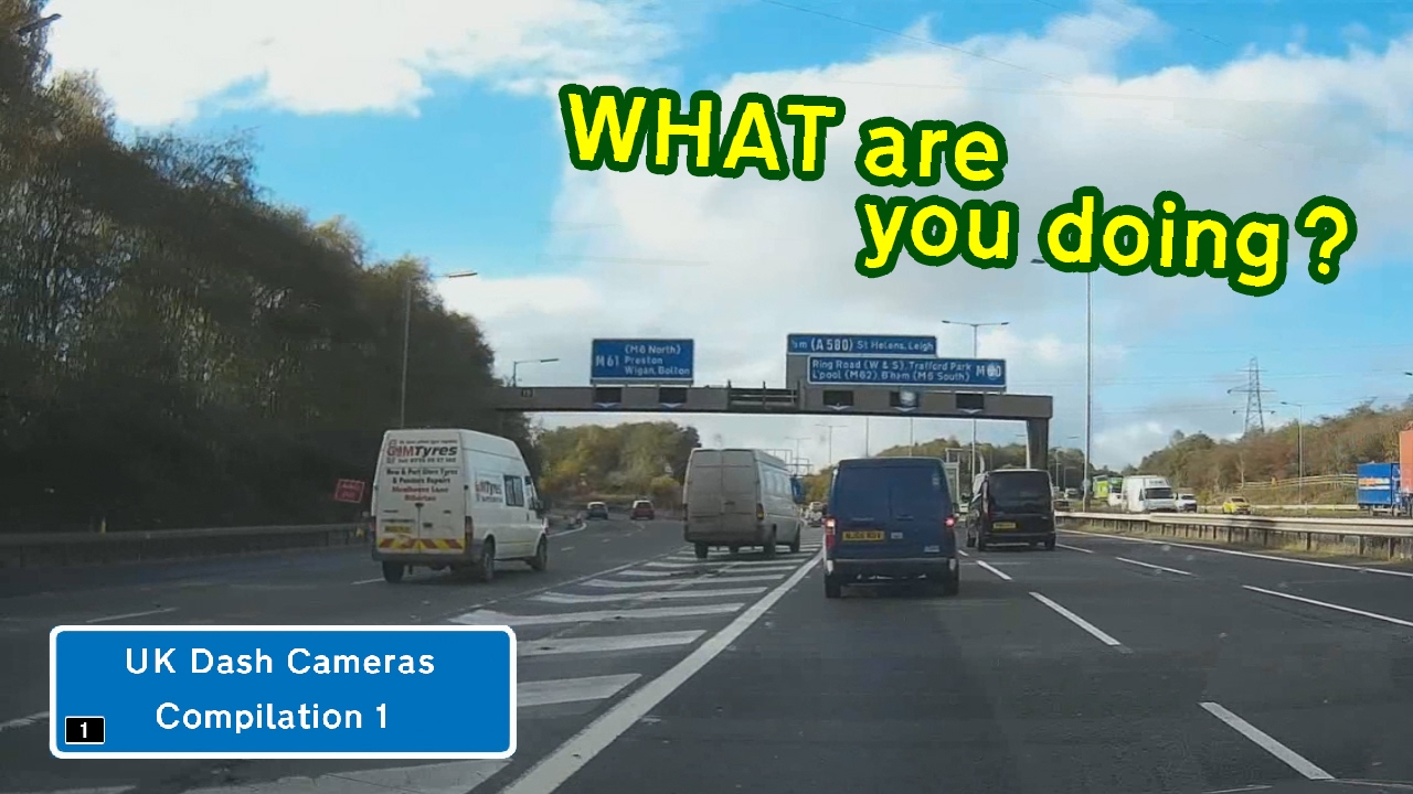 UK Dash Cameras - Compilation 1 - Bad Drivers, Crashes + Close Calls