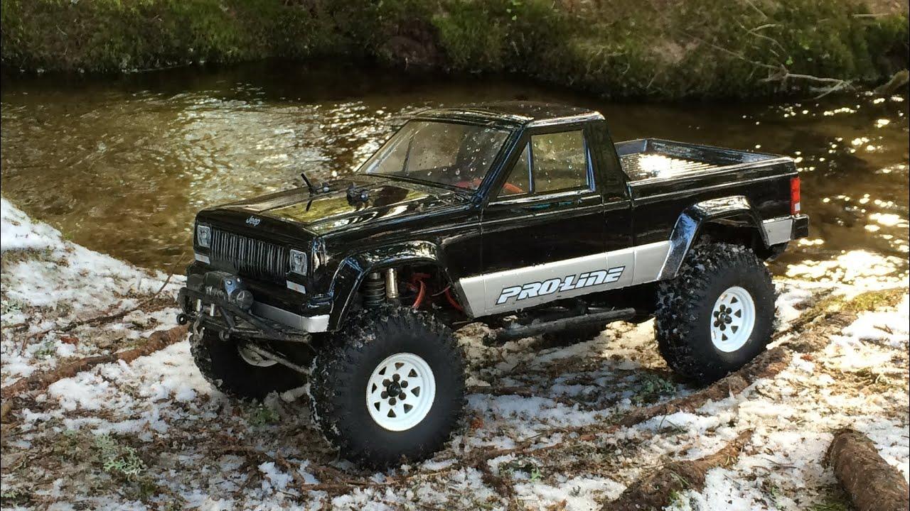 Jeep Comanche Axial Scx10 Black Forest Adventure Hd