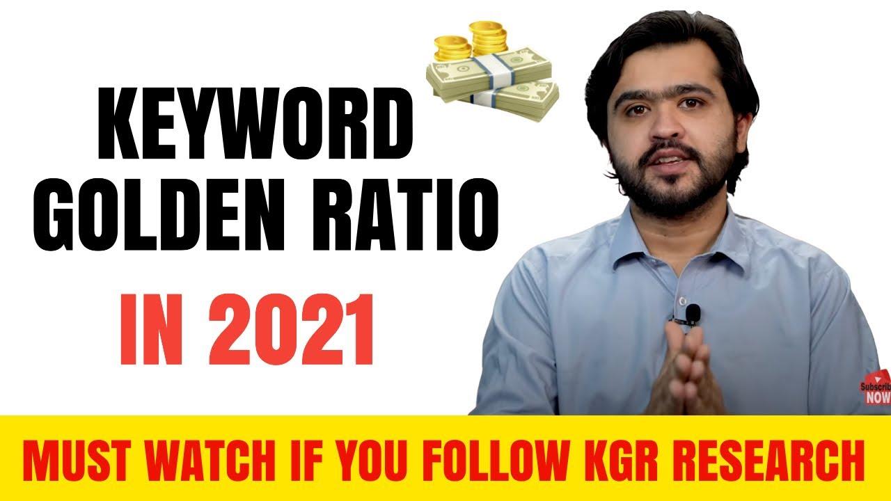 Does The KGR (Keyword Golden Ratio) Still Work ?