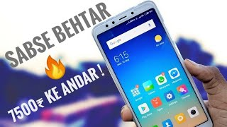 Xiaomi Redmi 5 Review in Hindi 🇮🇳 | Best 18:9 phone in budget