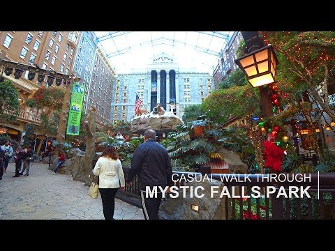 Sam's Town Las Vegas - Mystic Falls Park walk through