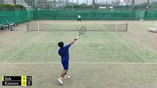 Kamura vs fish - Singles Highlights[tennis]