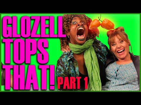 Top That! | GloZell Eats ANOTHER Pepper! | Part 1