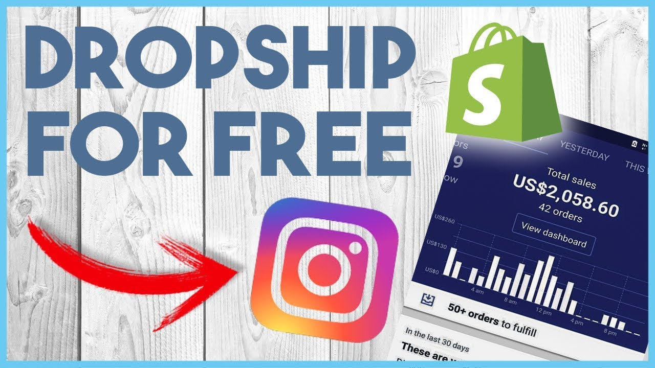 HOW TO SELL DROPSHIPPING PRODUCTS ON INSTAGRAM FOR FREE 2017   2018 💰 6b8f11d60