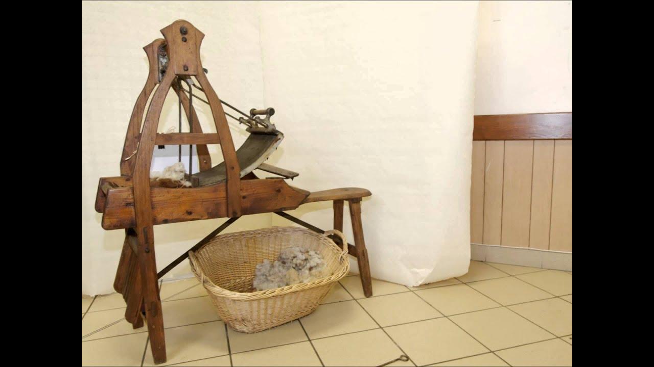Collection doutils en bois dAlfred Lorgnier  YouTube ~ Vieux Outils En Bois