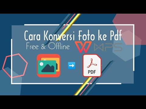 Cara Konversi Foto ke file Pdf - YouTube