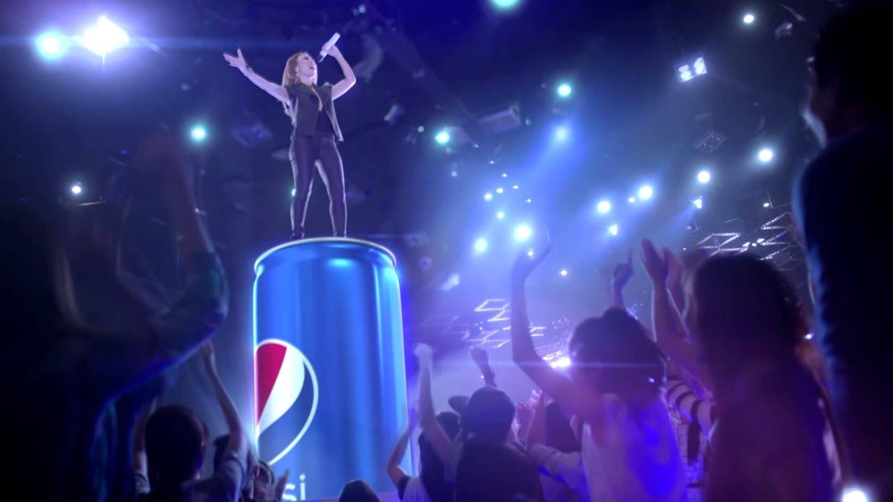 Pepsi lon cao, thật cao thật nổi bật  – Mỹ Tâm