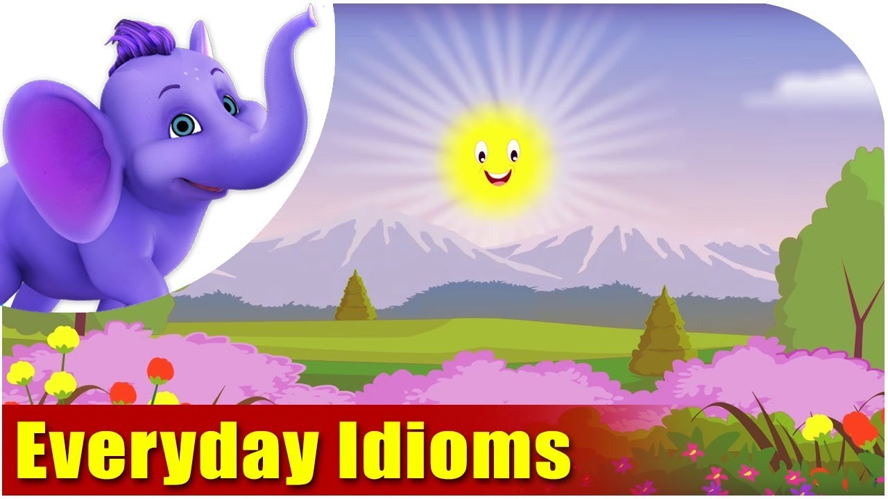 Everyday Idioms - made easy - YouTube [ 720 x 1280 Pixel ]