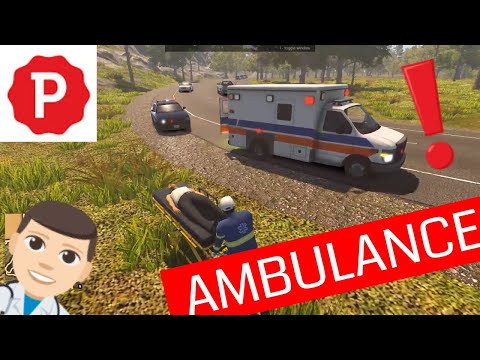 FLASHING LIGHTS - POLICE FIRE EMS | Ambulance Respond Car Accident | Gameplay No Commentary |