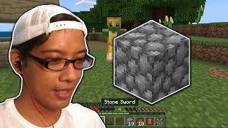 Minecraft how to mİne cobblestone - ep4
