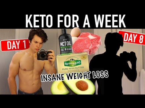 I Tried The Keto Diet For A Week | Ketogenic Diet Results | Best Weight Loss Diet?