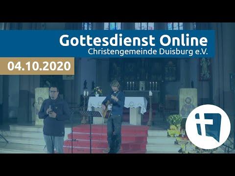 Christengemeinde Duisburg e.V. // Online-Gottesdienst // 04.10.2020