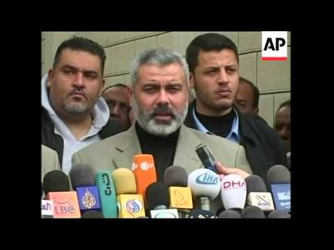 Haniyeh reacts to Abbas interview, Washington Post article