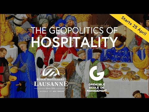 The Geopolitics of Hospitality - free online course at FutureLearn.com