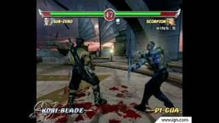 Mortal Kombat: Deadly Alliance GameCube Gameplay - Battle