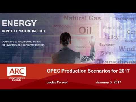 OPEC Production Scenarios for 2017