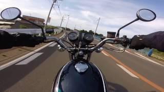 KZ900でお散歩 金田漁港から間口漁港