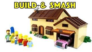 Build & Smash - LEGO Simpsons House -71006