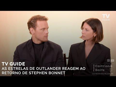 TV Guide: As Estrelas De Outlander Reagem Ao Retorno De Stephen Bonnet [HD] (Legendado)