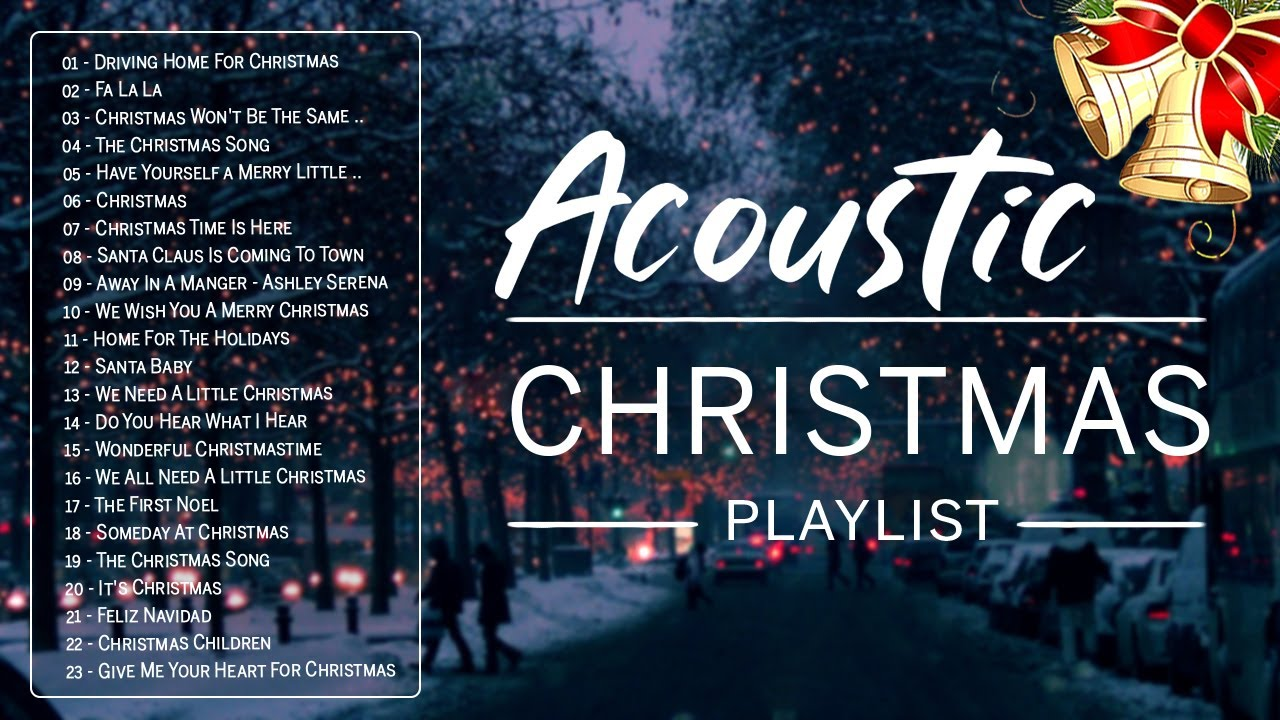 New Acoustic Christmas Songs Playlist 2021 - Best Traditional Merry Christmas Songs Medley Nonstop