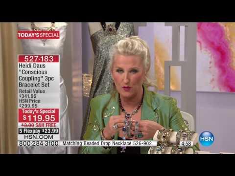 HSN | Heidi Daus Fashion Jewelry 01.24.2017 - 07 PM
