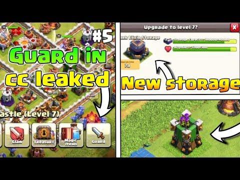 OMG😲Guard In Clan Castle Leaked | New Level Dark Storage | New Archer Tower Design