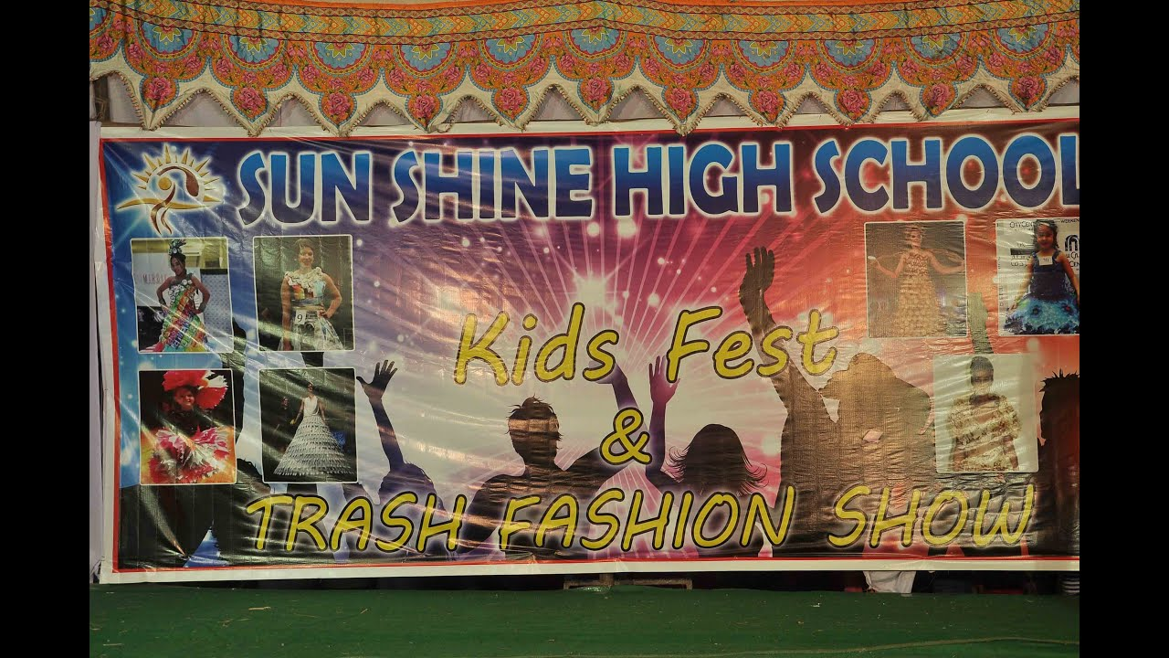 SUNSHINE SCHOOL (NRT) - KIDS FEST & TRASH FASHION SHOW PHOTOS