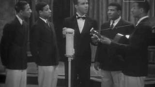 The Mills Brothers & Dick Powell - Out For No Good