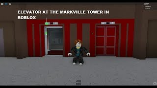 Elevator at the Markville tower in roblox