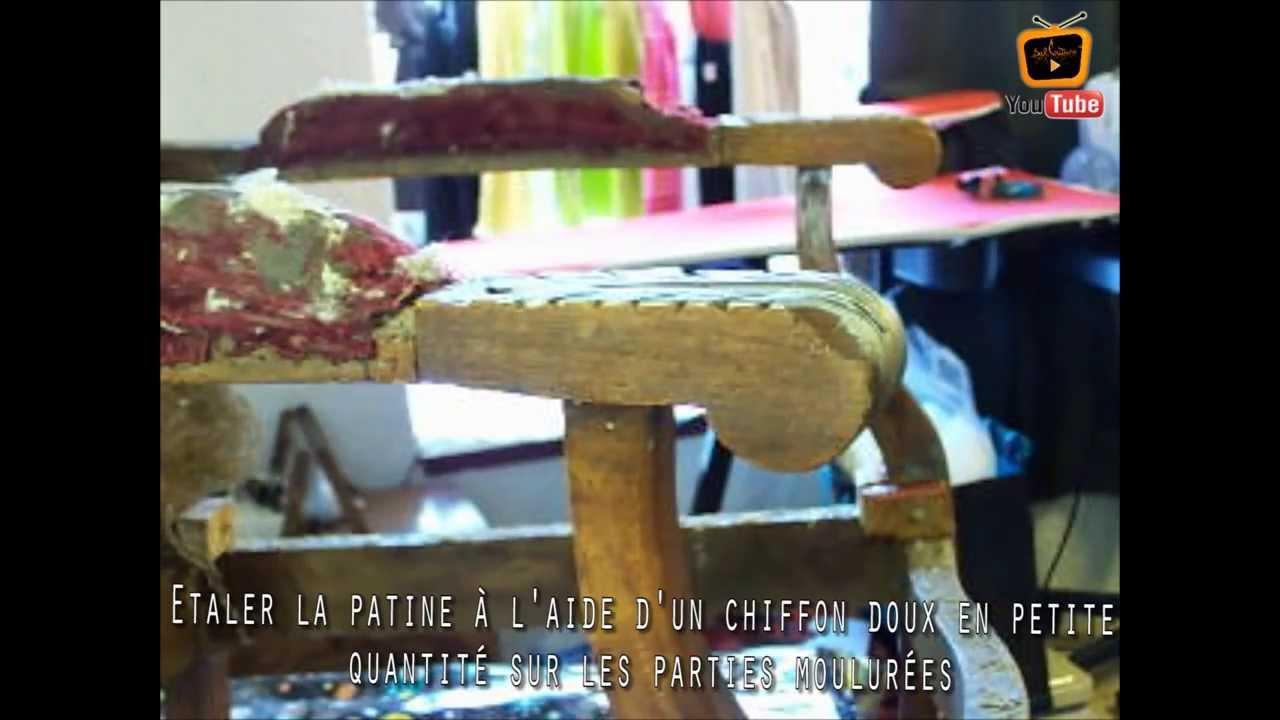 patine sur meuble ancien restaurer meuble patine libeyron comment patiner un fauteuil. Black Bedroom Furniture Sets. Home Design Ideas