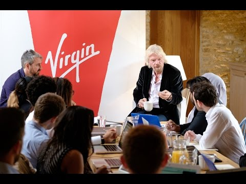 Virgin StartUp Masterclass: how to build a knockout brand