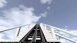 Nolimits simulator 1.8 The Slender Man Coaster W/o Fog or Music