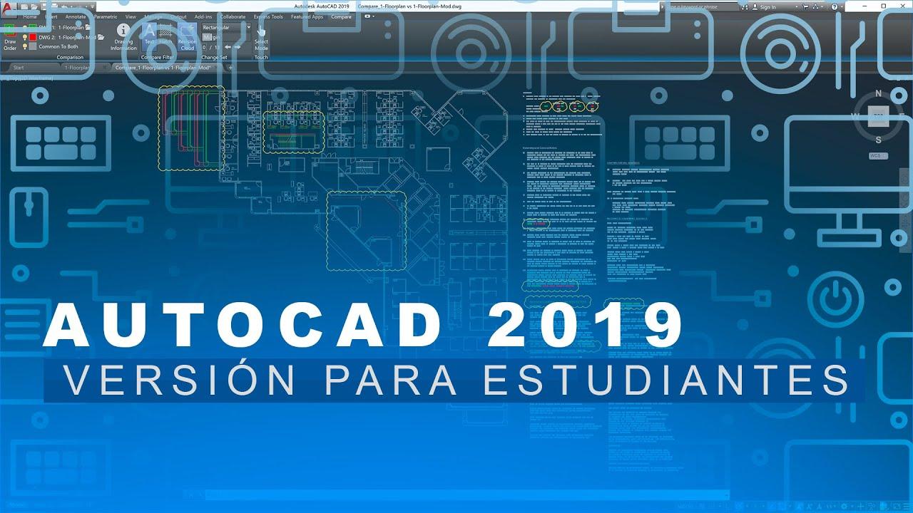 Como descargar AutoCAD 2019 | Gratis | Legal …