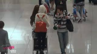 Video 【 Fancam 】 110310 SNSD Yuri Sunny 卡丁車 @ Airport download MP3, 3GP, MP4, WEBM, AVI, FLV Desember 2017