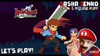 JackQuest Gameplay (Chin & Mouse Only)