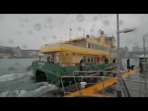 Sydney Video Walk 4K - Blues Point Reserve Spring 2017
